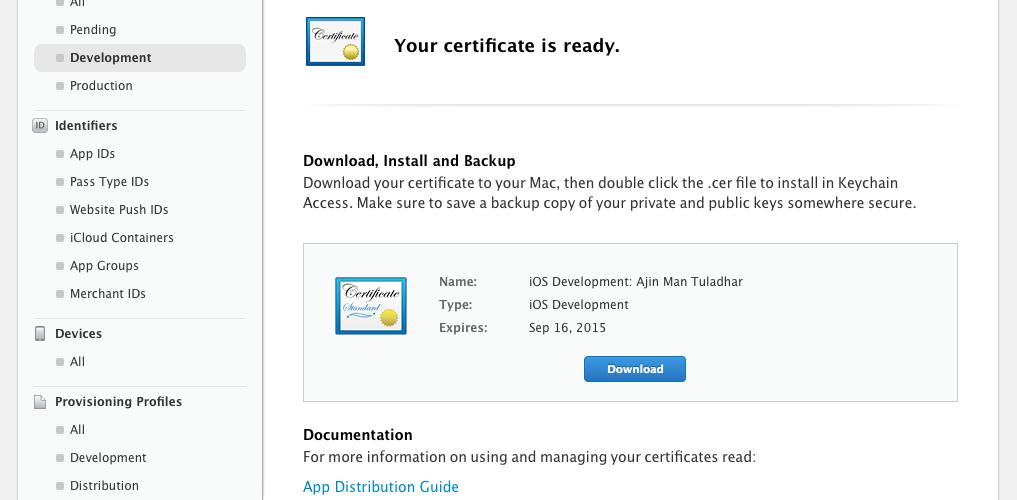 certificate_ready